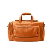 Winn International Colombian Leather Duffel Bag; Natural