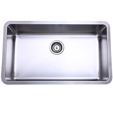 Elements of Design 30.13'' x 17.88'' x 10'' Undermount Single Bowl Kitchen Sink
