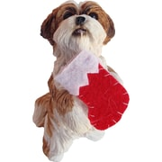 Sandicast Standing Gold Shih Tzu Christmas Ornament