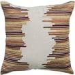Rizzy Home Embroidered Cotton Flax Throw Pillow