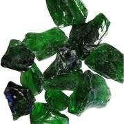 AZ Patio Heaters Recycled Fireglass; Green