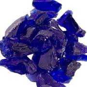 AZ Patio Heaters Recycled Fireglass; Cobalt Blue
