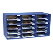 Pacon Creative Products Mail Box - 15 Mail Slots Blue