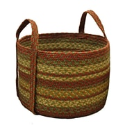 Homespice Decor Aberdeen Jute Basket; 14'' H x 14'' W x 10'' D
