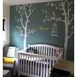 Pop Decors Nursery Trees with Bless Removable Vinyl Art Wall Decal