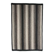 Homespice Decor Onyx Black Indoor/Outdoor Rug