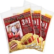 Funtime Popcorn Machines Perfect Popcorn 3-in-1 Popcorn Pouches; 8 Ounce