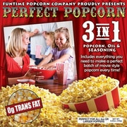 Funtime Popcorn Machines Perfect Popcorn 3-in-1 Popcorn Pouches; 4 Ounce