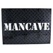 TMD Holdings Mancave Lightbox 13'' H Table Lamp with Rectangular Shade