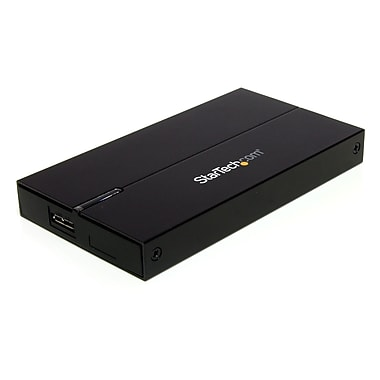 StarTech.com USB 3.0 SATA Hard Drive Enclosure, 9.5/12.5mm HDD, 2.5
