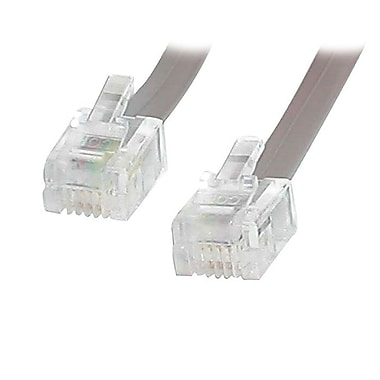 StarTech.com RJ11 Telephone Modem Cable, 25 Ft.