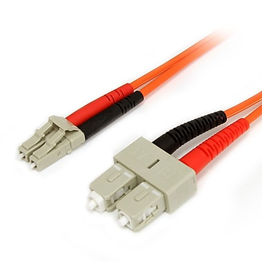 StarTech.com Multimode 62.5/125 Duplex Fiber Patch Cable LC, SC, 2m