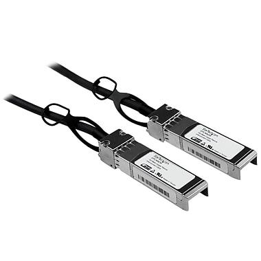 StarTech.com Cisco Compatible SFP+ 10, Gigabit Ethernet (10GbE) Passive Twinax Direct Attach Cable, 2m