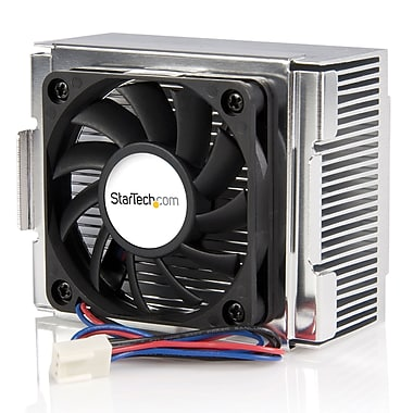 StarTech.com Socket 478 CPU Cooler Fan with Heatsink & TX3 Connector, 85 x 70 x 50mm