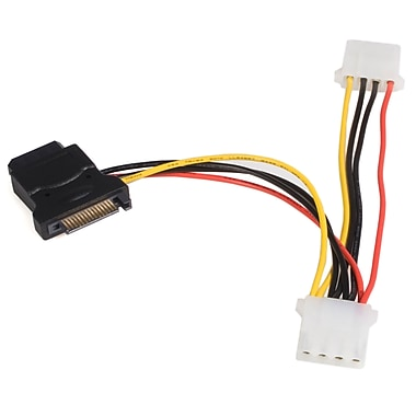 StarTech.com SATA to LP4 Power Cable Adapter with 2 Additional LP4,