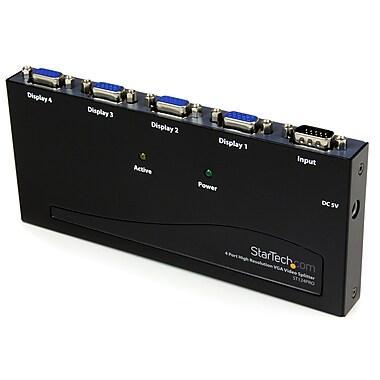 StarTech.com High Resolution VGA Video Splitter, 350 MHz, 4 Port