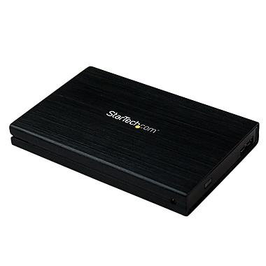 StarTech.com USB 3.0 SATA HDD/SSD Enclosure w/ UASP for SATA 6 Gbps, 2.5