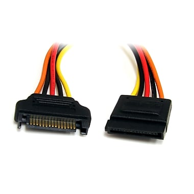 StarTech.com 15 pin SATA Power Extension Cable, 12