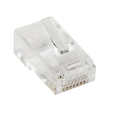 StarTech.com Cat5e RJ45 Stranded Modular Plug Connector, 50/Pack