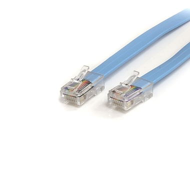 StarTech.com Cisco Console Rollover Cable, RJ45 Ethernet M/M, 6 Ft.
