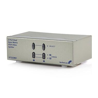 StarTech.com – Commutateur vidéo VGA à matrice haute résolution, 2 x 2 po