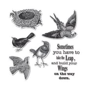 """Sizzix Framelits Die with Stamps Wings 1.25"""" x 1.62"""" - 2"""" x 2.75"""""""