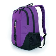 SwissGear Polyester Student Travel Backpack, Purple