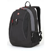 SwissGear Polyester Travel Backpack, Black