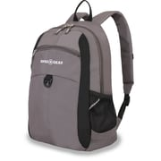 SwissGear Grey & Black Polyester Travel Backpack