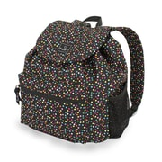 French West Indies SwissGear Polyester Backpack, Spiral Dot Confetti Print