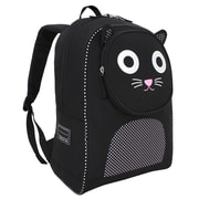 French West Indies Polyester Backpack, Salt & Pepper the Cat