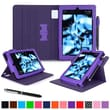"roocase Dual View Folio Case Cover Stand for Amazon Kindle Fire HD 7"", Purple"