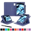 roocase Dual View Folio Case, Navy