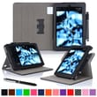 "roocase Dual View Folio Case Cover Stand for Amazon Kindle Fire HD 7"", Black"