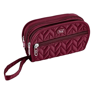 Lug Flipper Jewellery Clutch, Cranberry