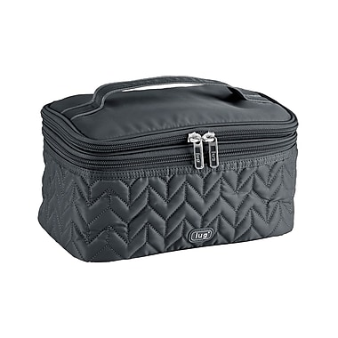 Lug Two-Step Cosmetic Case, Fog