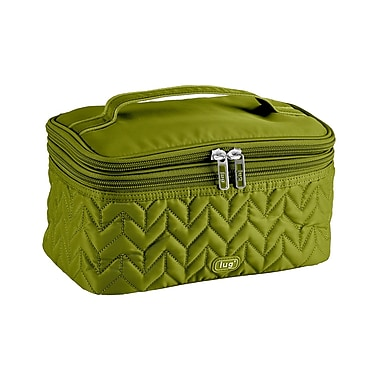 Lug Two-Step Cosmetic Case, Grass