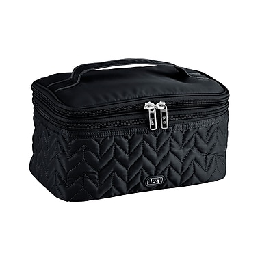 Lug Two-Step Cosmetic Case, Midnight
