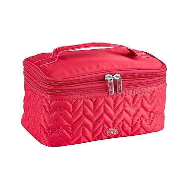 Lug Two-Step Cosmetic Case, Rose