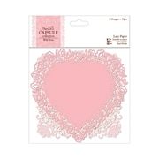 Docrafts® Papermania Die-Cut Lace Paper, 5 1/2, Wild Rose