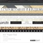 "Kaisercraft Paper Pad, 6 1/2"" x 6 1/2"", Hello Today"