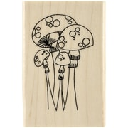 Ranger Dyan Reaveley's Dylusions Mounted Stamp, Mushroom Madness