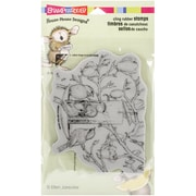 """Stampendous® 4"""" x 6"""" Sheet House Mouse Cling Rubber Stamp, Fully Content"""