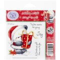 Crafter's Companion Party Paws™ EZMount™ 5 1/2in. x 8 1/2in. Rubber Stamp Set, A Christmas Gift