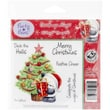 """Crafter's Companion Party Paws™ EZMount™ 5 1/2"""" x 8 1/2"""" Rubber Stamp Set, Christmas Magic"""