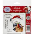 Crafter's Companion Party Paws™ EZMount™ 5 1/2in. x 8 1/2in. Rubber Stamp Set, Dear Santa