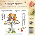 Crafter's Moonbeam Meadow Everyday EZMount™ 4 3/4in. x 4 3/4in. Rubber Stamp Set, Hugs & Kisses