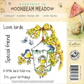 Crafter's Companion Moonbeam Meadow Everyday EZMount™ 4 3/4in. x 4 3/4in. Rubber Stamp Set, Love Birds