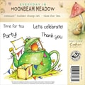 Crafter's Companion Moonbeam Meadow Everyday EZMount™ 4 3/4in. x 4 3/4in. Rubber Stamp Set, Time For Tea