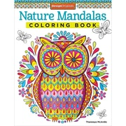"Design Originals ""Nature Mandalas Adult Coloring"" Book"
